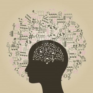 14637365-musical-notes-round-a-head-of-the-person-a-vector-illustration